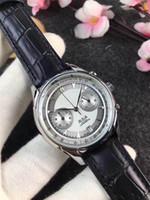 Nuovo tutti i secondi in acciaio inox top orologi di lusso degli uomini dello stilista orologio al quarzo popolare di sport uniformi uomini della vigilanza del Reloj Muje