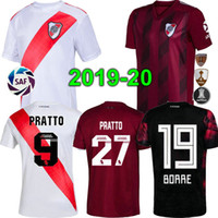 Top quality 19 20 RIVER PLATE Home jersey soccer SCOCCO MART...