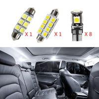 10pcs sem erro Canbus Car Lâmpadas LED Interior Package Kit para 2011-2015 Volvo S60 Sedan Mapa Dome Tronco Glove Box Lamp Branco