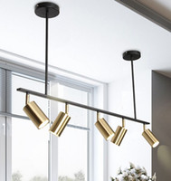 Gold überzogenes Lampshade Led Scheinwerfer Pendelleuchte Modernes Design Hängen Spot für Dinning Room Gold Metall Pendelleuchte MYY