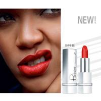 Pudaier Soft Sexy Red Brown Velvet Matte Lápiz labial Larga duración Tinte Lip Stick Nude Natural 17 colores Maquillaje cosmético para mujeres