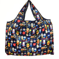 Waterproof Foldable Recycle Shopping Bag Travel Shoulder Bag...