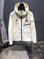 M391 Hommes Printemps Automne impression mince manteau coupe-vent Zip hoodies pour les hommes Sweat-shirt des hommes de veste de survêtement de sport Vêtements