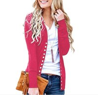 Cardigan Womens Tops Spring Long Sleeve Shirts Tee With Butt...