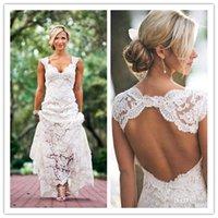 Robe de mariée haute couture en gros robes de mariée gaine Baechless 2020 belles robes de mariée pleine dentelle pleine dentelle