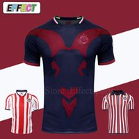 Chivas de Guadalajara Soccer Jerseys 2018 2019 MEXICO Club Japan World Cup Kit de camisetas de fútbol del equipo local visitante 18/19 A.PULIDO Camiseta de Futbol Camisetas de fútbol Football Shirt