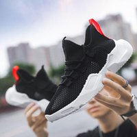 2020 New Running Shoes Mens Triple Black Sports Sneakers Pure White Grid Mesh Fashion Outdoor Shoes Free Shipping