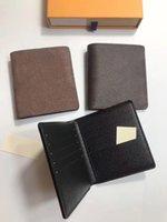 Portafoglio multicolore Portafoglio in pelle Portafoglio Pocket Pea Pisello Mini Classic Card Card Case Storage Short Zipper all'ingrosso pieghevole IGAME