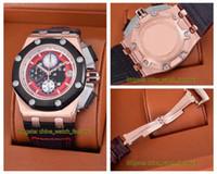 18 стиль высокое качество часы 42 мм 44 мм оффшор 26210 26401 26400 226078 18 карат золото VK кварцевый механизм хронограф Workin мужские мужские часы