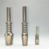 티타늄 네일 10mm의 14mm의 18mm 2 급 티 네일 VS 석영 네일 세라믹 팁을 살짝 조작 봉 세트 DHL의 무료