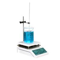 SH-4 Laboratuvar Manyetik Karıştırıcı Isıtma karıştırın Plakası Manyetik Karıştırıcı sıcak yemek, 19x19cm Seramik Panel, 0 ~ 2000 RPM'de, 5000ml Cilt ile