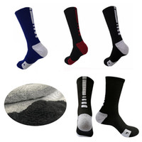 Professional Elite quick- dry Basketball Socks Long Knee Athl...