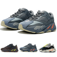 Hot Sale Kids Shoes Wave Runner 700 Style Kanye West Running...