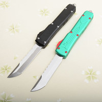Drop shipping UT85 Auto Tactical Knife D2 Satin Finish Hell ...
