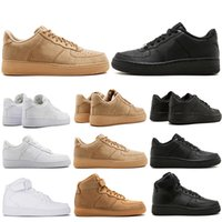 New Classic Brand discount One 1 Dunk Casual Chaussures Pour Hommes Femmes Sport Skateboard High Low Cut Blanc Noir De Blé Baskets Baskets