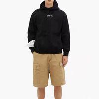 19FW VETEMENTS 2020 Herbst Winter Hoodie Label Brief LOGO Gedruckt Pullover Mode Kapuzenpulli Highstreet Outwear