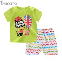 Lovely Style Baby Boy Summer Comfortable Clothing Outfits Ba...