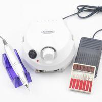 New 30000RPM Elétrica unhas broca Máquina elétrica Manicure Brocas Máquina Acessório Pedicure kit de unhas ferramentas Broca Arquivo Bit unhas