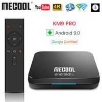 Google Certified Mecool KM9 Pro ATV 2G16g 4G32G Android 9.0 TV-Box Amlogic S905X2 Spracheingabe Dual WIFI BT4.0