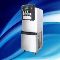 36-42L / H Neuer beste Luxuxqualitäts automatische Joghurt kommerzieller Edelstahl vertikal mehrere Industrie 3 Geschmack Softeis make
