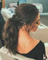 Hunman Hair Clip in Ponytail Extension Wrap Around для женщин длинные волнистые вьющиеся волосы пушистый конский хвост 18 дюймов-черный коричневый