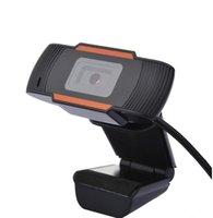 HD веб-камера веб-камера 30fps 640X480 PC камера встроенный звукопоглощающий микрофон A870 видеозапись для компьютера для ПК ноутбук 480P 720P