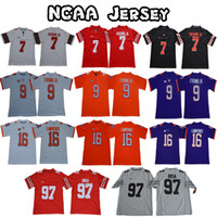 Embroidered NCAA 7 Dwayne Haskins Jr jersey 97 Nick Bosa Ohi...