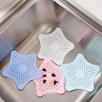 Creative Kuchnia Łazienka Sea Star Sucker Sink Drenażowy Korekta Sito Drenarz Przekrywanie Sewer Outfall Filtr Włosów