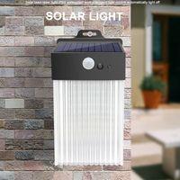 50 Modes 3 modes Lampe solaire Lampe solaire extérieure PIR Mouvement Capteur de mouvement PLUMEMENT ÉTAPILE SOLAIRE ÉLECTAVE SUNLIGHT POUR LACOR DE JARDIN