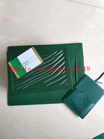 무료 고품질 시계 상자 시계 상자 시계 슈퍼 시계 상자 녹색 시계 시계 선물 시계 상자 가죽 가방 카드 0.8KG