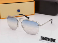 여성 선글라스 판자 프레임 최고 품질의 여름 스타일의 남성 선글라스 보호 안경 2933에 대한 파일럿 새로운 패션 여성 디자이너 선글라스