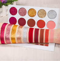 10 Colors Matte Glitter Eyeshadow Pallete Pressed Glitter Ey...