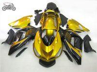 射出ボディワークフェアリング2006 2007 2007 2008川崎忍者ZX14R 06 07 08 ZX-14 ZX 14Rゴールデン中国フェアリングボディワーク