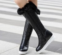 2018 fashion Women' s Boots in winter with New flat bott...