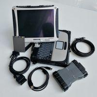 Полный набор MB STAR SD C6 X-ввод DIIP с подержанным ноутбуком CF19 Диагностика Мультиплексоров Мягкая посуда V06.2021 Инструмент автомобильной диагностики