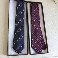الرجال الفاخرة التعادل التصميم الكلاسيكي بوتيك التوت الحرير التعادل أزياء رجالية الأعمال التعادل 7.0 سنتيمتر الأزياء هدية مربع هدية