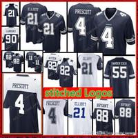 New Arrival. Dallas 4 Dak Prescott 21 Ezekiel Elliott Cowboys Jersey Men 88  Dez Bryant 82 Jason Witten 55 ... 94ef7c69f
