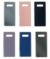 OEM جديد الدرجة A +++ لا أي خدش الباب الخلفي بطارية الإسكان الغطاء القضية + لاصق للحصول على سامسونج غالاكسي ملاحظة 9 N960F Note5 ملاحظة 8 S8 S9