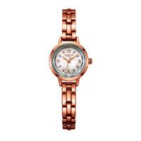 2017 Nova Julius Marca de moda japonesa de quartzo Movt Designer Relógios Mulher relógio de ouro das senhoras Pulseira Vestido Reloj Mujer JA-865