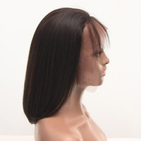 Uniqueme Hair 100% Human Hair Lace Front Wig Brazilian Hair ...