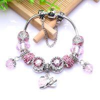 Braccialetto del regalo del doppio del braccialetto dell'olio dell'olio della goccia all'ingrosso del braccialetto della mamma Adatto per gioielli in stile Pandora