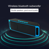 Parleur sans fil Bluetooth Mini ordinateur portable deux haut-parleurs stéréo petit Caisson de graves Soutien des haut-parleurs Bluetooth d'appel Bluetooth