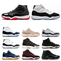 11 New 11s Mens Basketball Shoes Concord 45 Cap And Gown Leg...