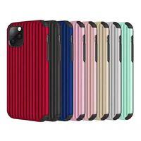 Bagagem Saco All Inclusive Anti Queda Personalidade Mobile Phone Caso Multi Color opcional Para Iphone 11Pro Max TPU Classic Shell Simples