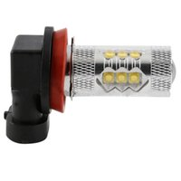 2pcs LED Faróis H8 H11 Frente nevoeiro Bulds 80W Hight Power 16SMD