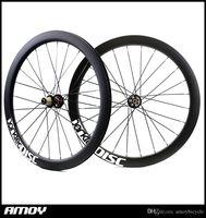 darktec اللوحة الكربون 700C القرص النقطة الفاصلة 50mm الكربون العجلات عجلات الطريق Cyclocross دراجة دراجة قرص الفرامل محاور العجلات