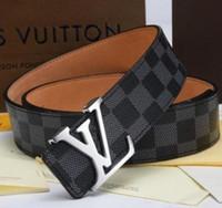 1777c19c0 Louis Vuitton Nuevo 2019 ACE cinturón de alta calidad para hombres y  mujeres cinturón de alta calidad Pu cuero bandolera entrega gratuita + CAJA