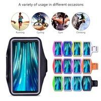 Esecuzione di supporto del telefono Gym Bag della copertura di Xiaomi redmi Nota 9s 9 8 7 5 6 Pro Mi Max cassa della fascia Mix 2 3 10 9 8 9T SE A3 A2 Lite Arm