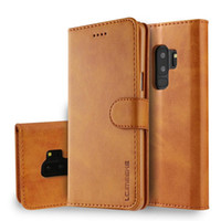 Caja protectora de lujo TPU + PU billetera de cuero del tirón del teléfono para el iPhone X XR XS Max 8 7 6 6s más las cajas con la tarjeta del bolsillo pata de cabra contraportada