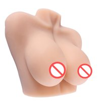 4. 2KG Big Breast Male Masturbator, 3D Real Solid Silicone Se...